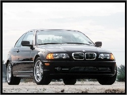 Coupe, Czarne, BMW E 46